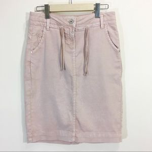 Sandwich Salmon Pink Skirt Size Small 34 Stretchy